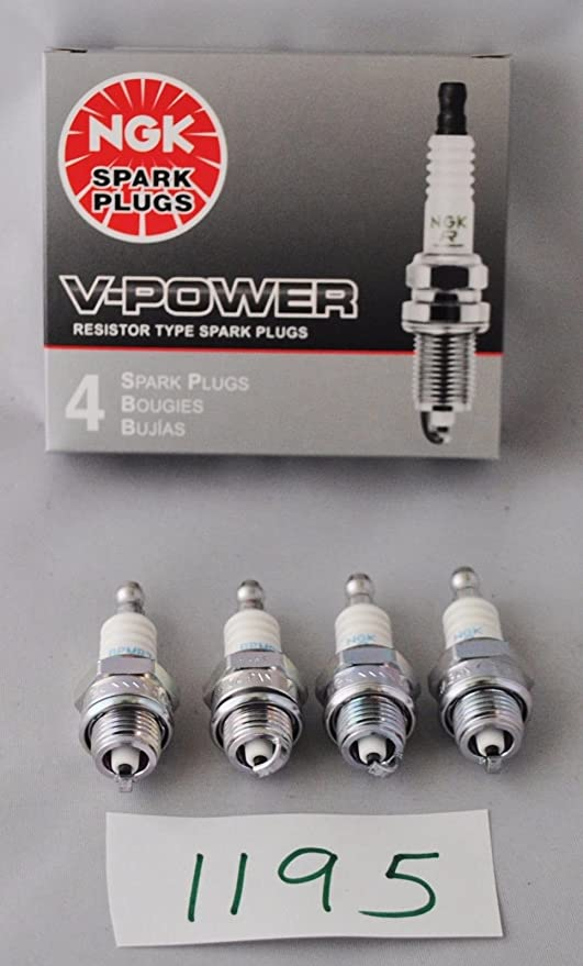 Amazon.com: 4 Pack Genuine Oem Ngk Bpmr7a Spark Plug For Many Chainsaws 350 455 445 028: Automotive