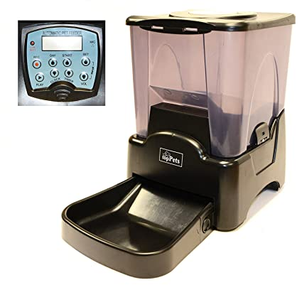 amazon com toppets large automatic pet feeder electronic rh amazon com Automatic Pet Feeders for Multiple Cats With Automatic Timer Pet Feeders for Cats