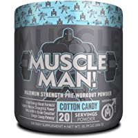 Muscle Man Muscle Builder Pre Workout Powder for Men
