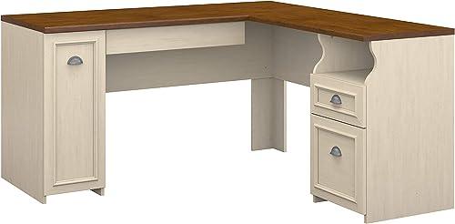Bush Furniture Fairview L Shaped Desk