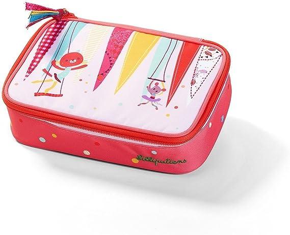 LILLIPUTIENS 86795 - Estuche Plumier Cirque, Color Rosa: Amazon.es: Juguetes y juegos