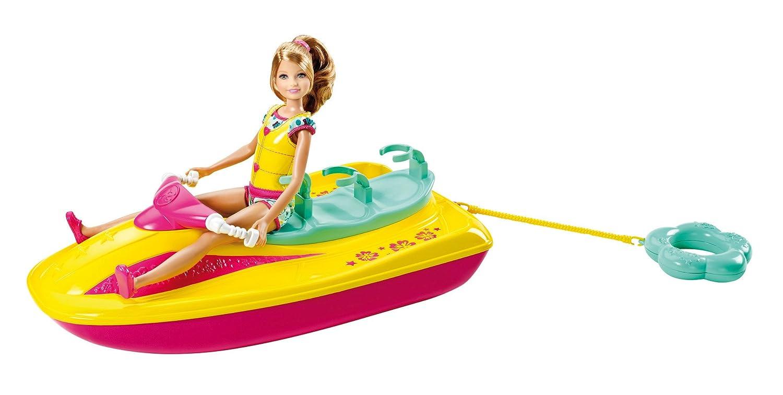 Barbie X3210 - Moto Acuática De Barbie Y Sus Hermanas (Mattel)