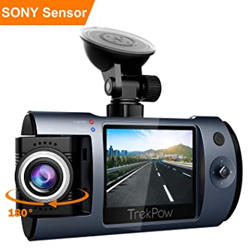 Full Camera Embarquée Voiture Mini Hd Dashcam Trekpow T1 1080p qzSUpMVG