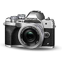 Kit de cámara del Sistema Micro Four Thirds Olympus OM-D E-M10 Mark IV, Sensor de 20 Mpx, Visor electrónico, vídeo 4K…
