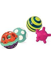 Battat Baby Ball-A-Balloons Textured Ball Set