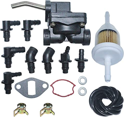 LIYYOO Fuel Pump for Kohler Magnum Engine Including 5255901,5255901-S,5255902,5255903-S,52-559-01-S,52-559-02,52-559-03-S Magnum M18 M20 MV16 MV18 MV20 KT17 KT19 Engine