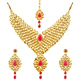 Indian Royal Party wear Wedding Gold Plated Ring Sizer Fashion Bollywood Jewelry EN621