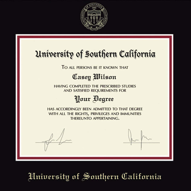 LA HART University of Southern California Diploma Frame The Fidelitas M