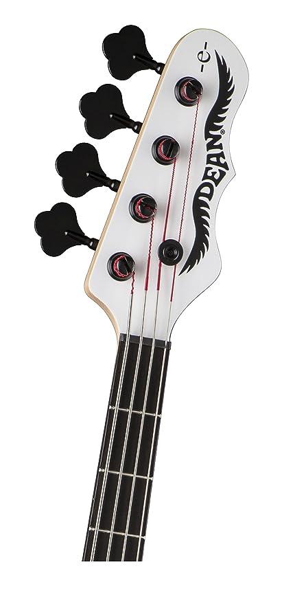Dean Guitars EBHB CWH Eric Bass Hillsboro Gitarre classic weiss ...