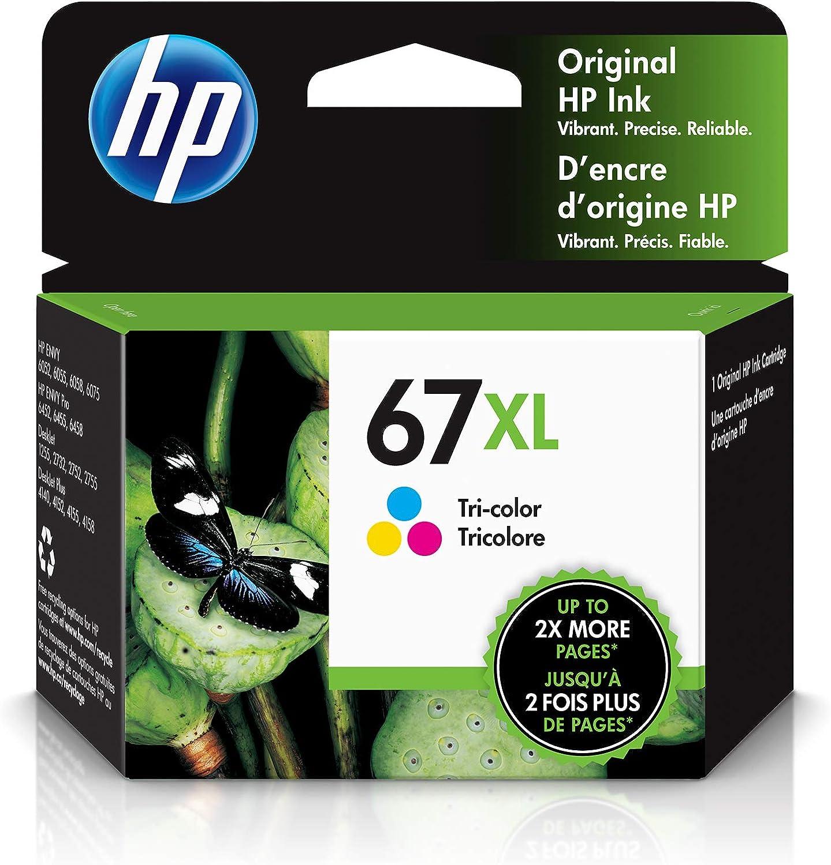 HP 67XL | Ink Cartridge | Tri-Color | 3YM58AN
