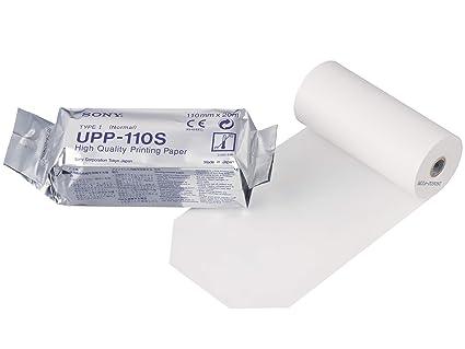 SONY UPP110S Rollos de papel térmico de alta calidad para ...