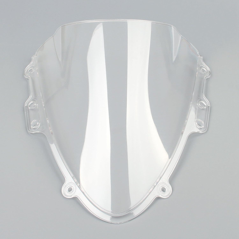 Artudatech parabrezza moto doppio bolla parabrezza per S U Z U K I GSXR 600//750 2004-2005 K4