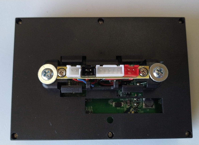Indalchess Pantalla LCD para Coche Infantil ni/ños 12V MP4 USB