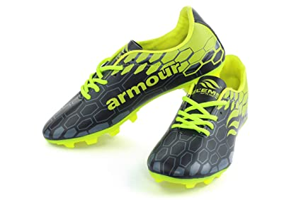 Buy ELEMS Armour Football Shoes (Black Green) Online at Low Prices ... 3898a6845