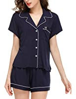 Sissely Women's Short Sleeve Pajama Sets (XS-XL)