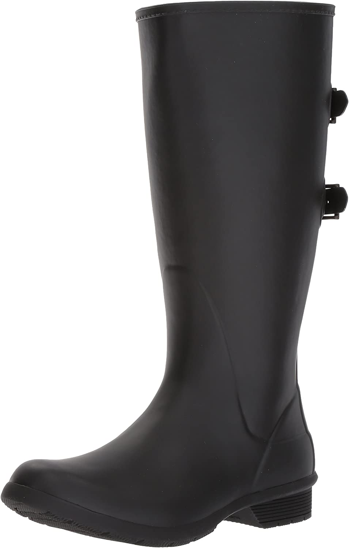 Wide Calf Memory Foam Rain Boot