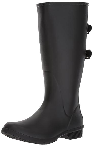 5fa7a22457a Chooka Women s Wide Calf Memory Foam Rain Boot