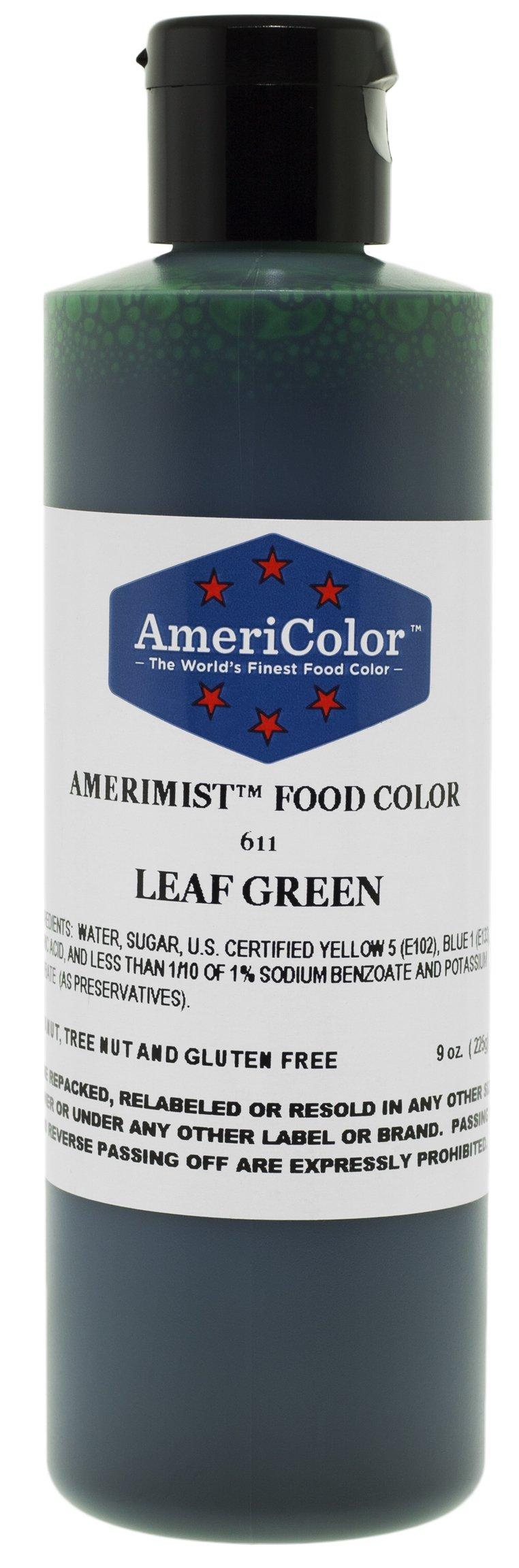 AmeriColor AmeriMist Leaf Green Airbrush Food Color, 9 oz