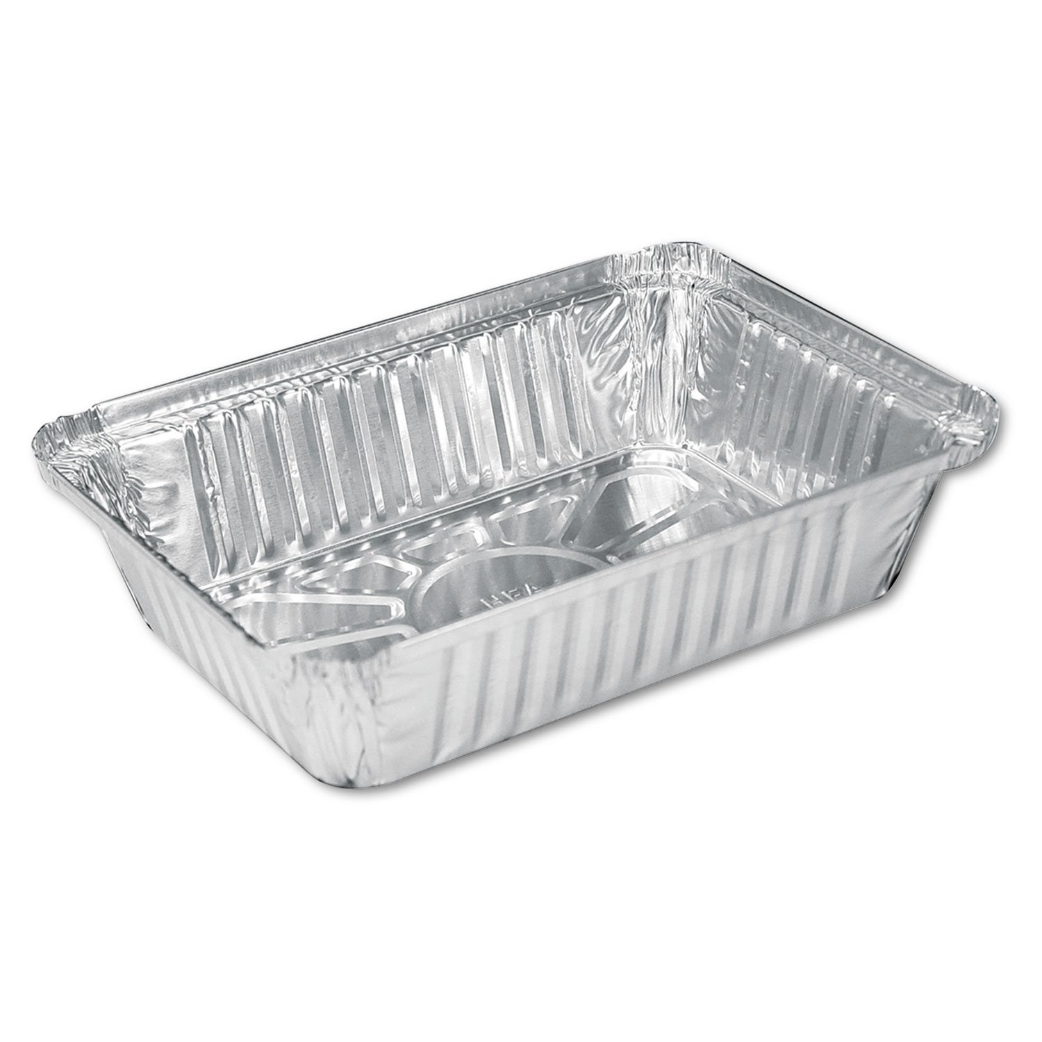 Aluminum Oblong Pan, 36oz, 8 1/2 X 5 15/16 X 1 13/16, 500/carton By: Handi-Foil of America by COU