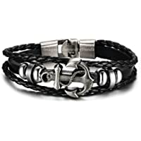 University Trendz Latest Collection Leather Charm Friendship Bracelet