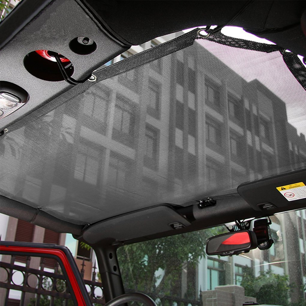 Ben-gi PVC Top Cover UV Protection Soft Top Tarpaulin for Jeep Wrangler 2 Doors 2007-2017