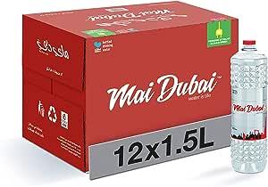 Mai Dubai Bottled Water, 12 x 1.5 Litre