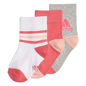 adidas Ankle S 3 Pair Pack Calcetines, Bebé-Niños: Amazon.es: Deportes y aire libre