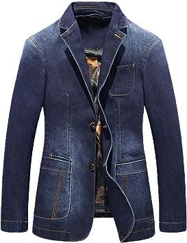 デニムジャケット メンズカジュアルデニムスーツバージョン複数のポケット コットンウォッシュドスリムフィットコート 長袖ジャケット