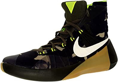 2a7511b629c ... Nike Mens Hyperdunk 2015 Prm Cargo Khaki Sail Sequoia Bamboo High-Top   Men s Hyperdunk 2015 Prm Basketball Shoes .