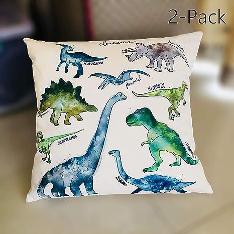 Amazon.com: aobik Multi dinosaurios animales Lino y Algodón ...