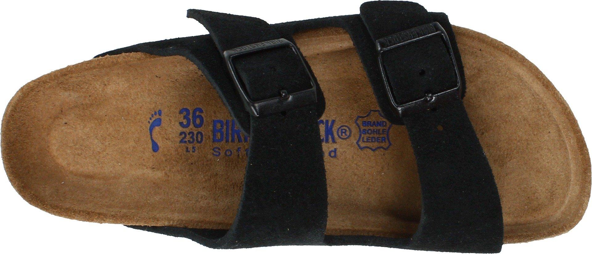 Birkenstock Arizona Soft Footbed Black Suede Regular Width - EU Size 35 / Women's US Sizes 4-4.5 by Birkenstock (Image #7)