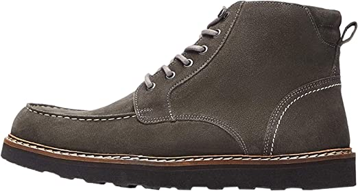 TALLA 41 EU. Marca Amazon - find. Leather Apron, Botas Chukka Hombre