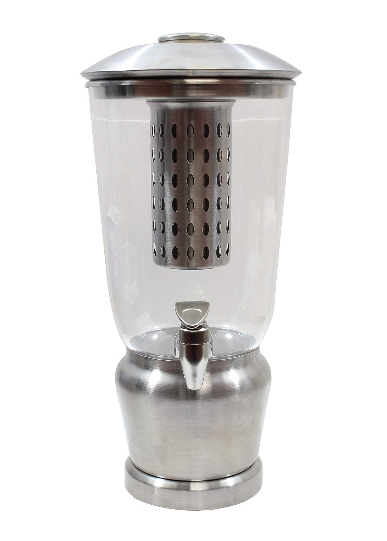 Single Dispenser Infuser, Stainless Steel, BPA Free Resevoir 1.25 Gallon