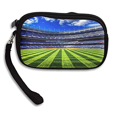 0bfd0742c58 Football Sports Stadium Love Comfortable Coin Purse Storage Package Wallet  Zipper Change Holder Bag Key Wristlet