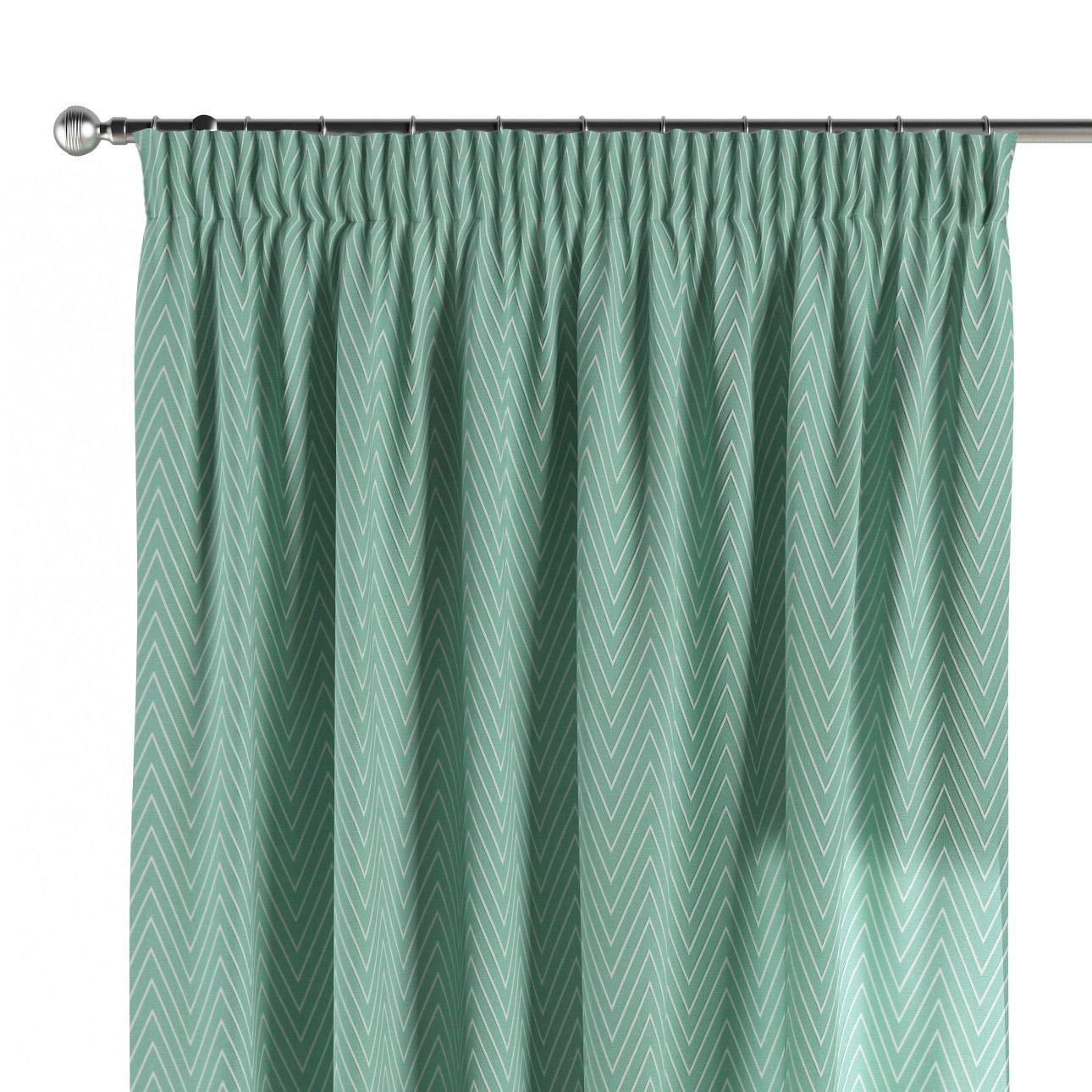 Dekoria Vorhang mit Kräuselband Dekoschal Blickdicht 1 Stck. 130 × 260 cm grün Maßanfertigung möglich