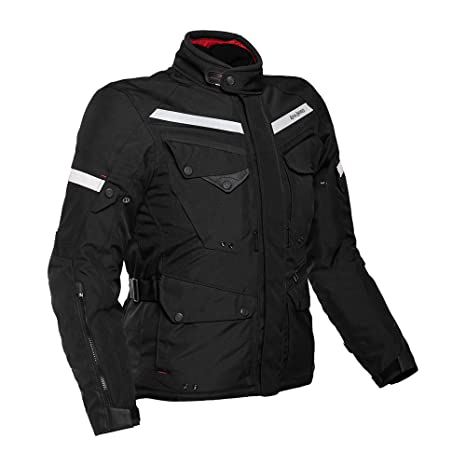 Image result for Royal Enfield Nylon Black Riding Jacket