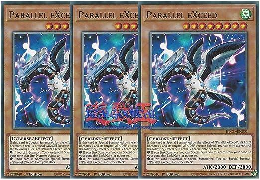 Parallel eXceed ETCO-EN001 1st edition YuGiOh IN HAND!!!!!