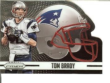 Fútbol NFL 2015 Prizm cascos Prizm # 1 Tom Brady Patriots