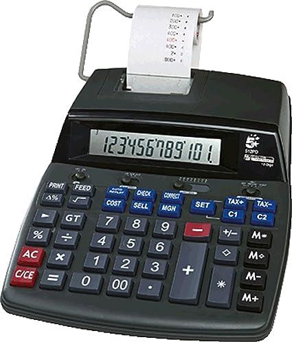 5 startm Calculadora (Impresora 512PD/96015812 dígitos: Amazon.es ...