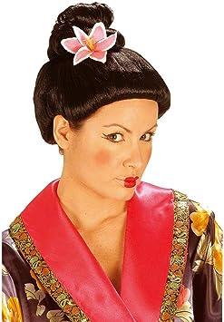 Perruque geisha japonaise asiatique Carnaval perruques