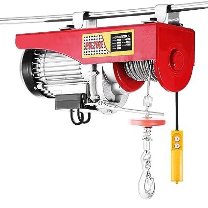 Happybuy 440 LBS Lift Electric Hoist 110V Electric Hoist Remote Control on