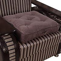 Homescapes extrahohes Sitzkissen orthopädisch Sitzerhöhung Aufstehhilfe, Bezug aus hochwertigem Velours, 100% Polyester Füllung