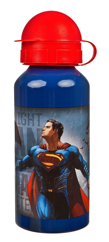 Undercover BSFH9890 alluminio bottiglia Batman vs Superman, 400 ml, Blu