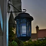 Electric Bug Zapper Insect Mosquito Led With Trap Lamp Convenient Large Size