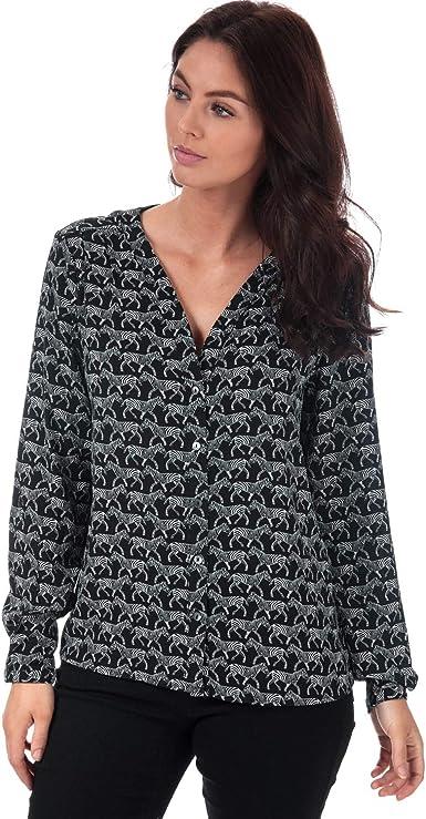 Only - Camisas - para Mujer Negro Negro (36: Amazon.es: Ropa y accesorios