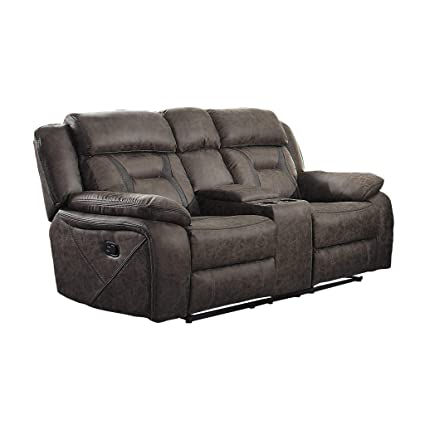 Amazoncom Homelegance 9989 Double Lay Flat Reclining Love Seat 76