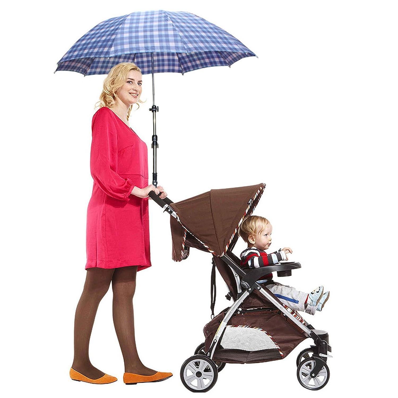 VANKER Durable ajustable soporte del sostenedor del cochecito de bebé del cochecito de niño de la carretilla sombrilla: Amazon.es: Bebé