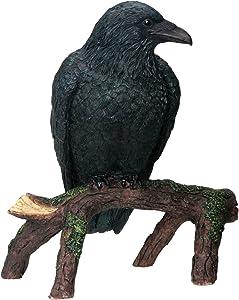 SUMMIT COLLECTION YTC Raven - Collectible Figurine Statue Sculpture Figure Crow Bird Model