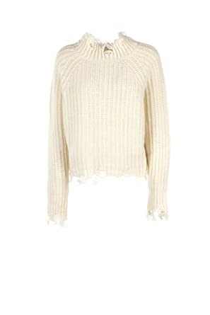 71c00e51b0 Image Unavailable. Image not available for. Colour  PINKO JEAN Women s M  White Sweater 1j105u Y3th Winter Flame ...