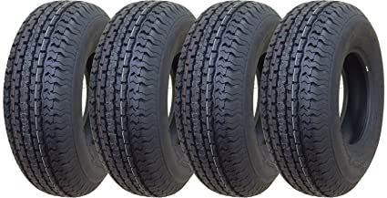 Amazon Com Set Of 4 New Premium Trailer Tires St 225 75r15 10pr